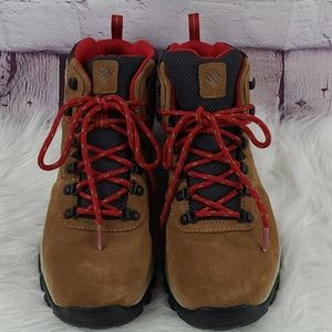 Columbia Newton Ridge Plus II Brown Suede WP Boots